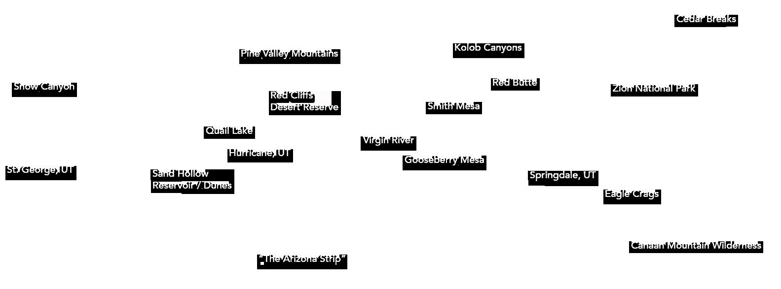 Zion Tour Labels