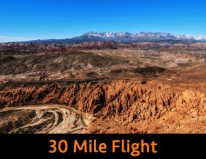 30 Mile Flight