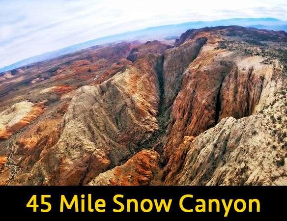 45 Mile Snow Canyon