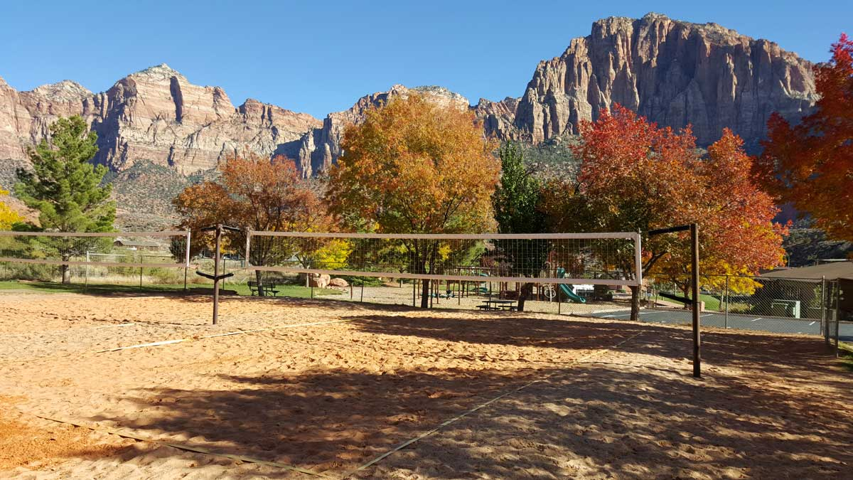 fall in Zion