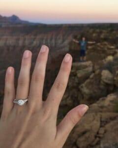 Mesa Butte Hand View