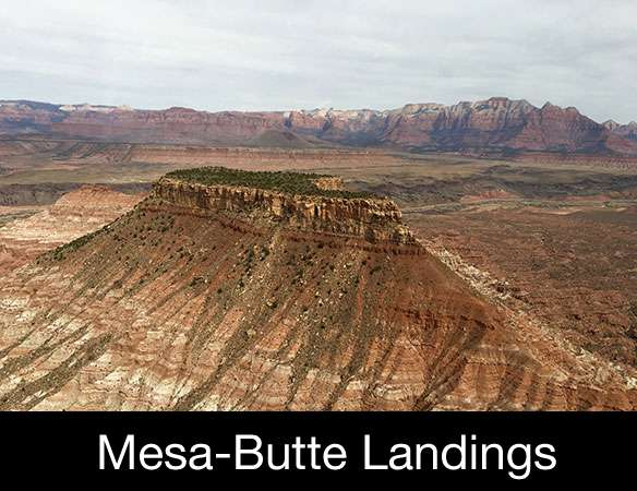 Mesa Butte Landing Feature