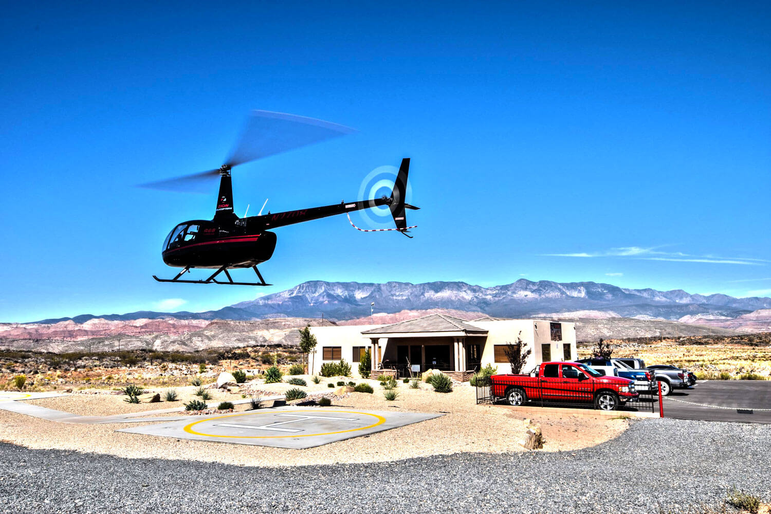 Zion Helicopters Heliport