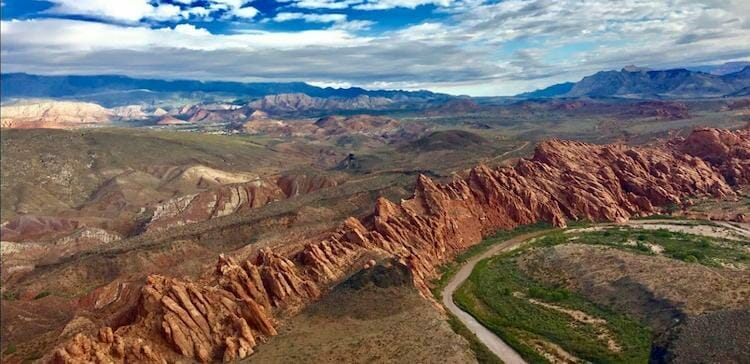 zion helicopter scenic panoramic flight