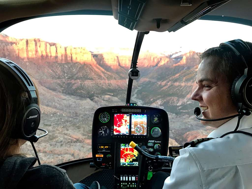 zion helicopter tours southern utah