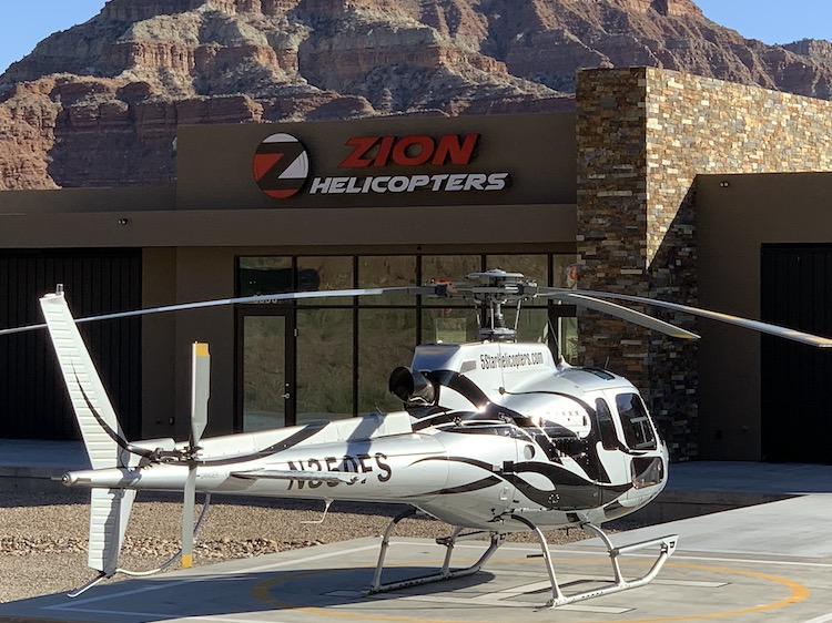 zion helicopter heliport terminal