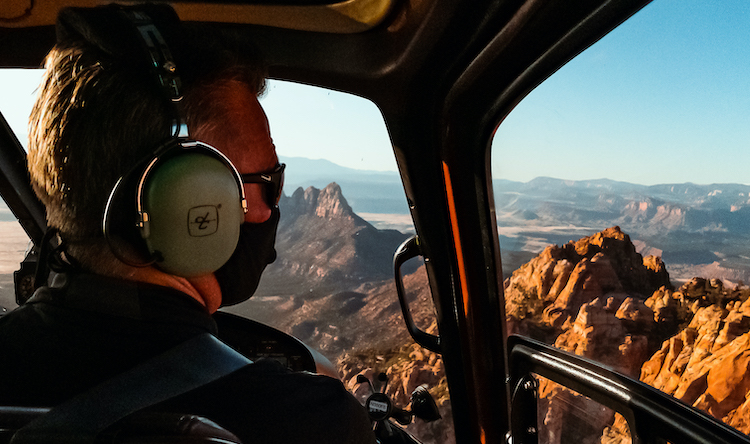 zion helicopter flight